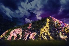 후쿠오카 성터 빛의 축제